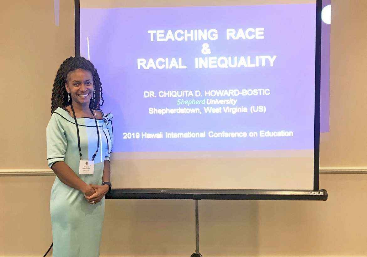 Dr. Chiquita Howard-Bostic, chair, Department of Sociology and Geography