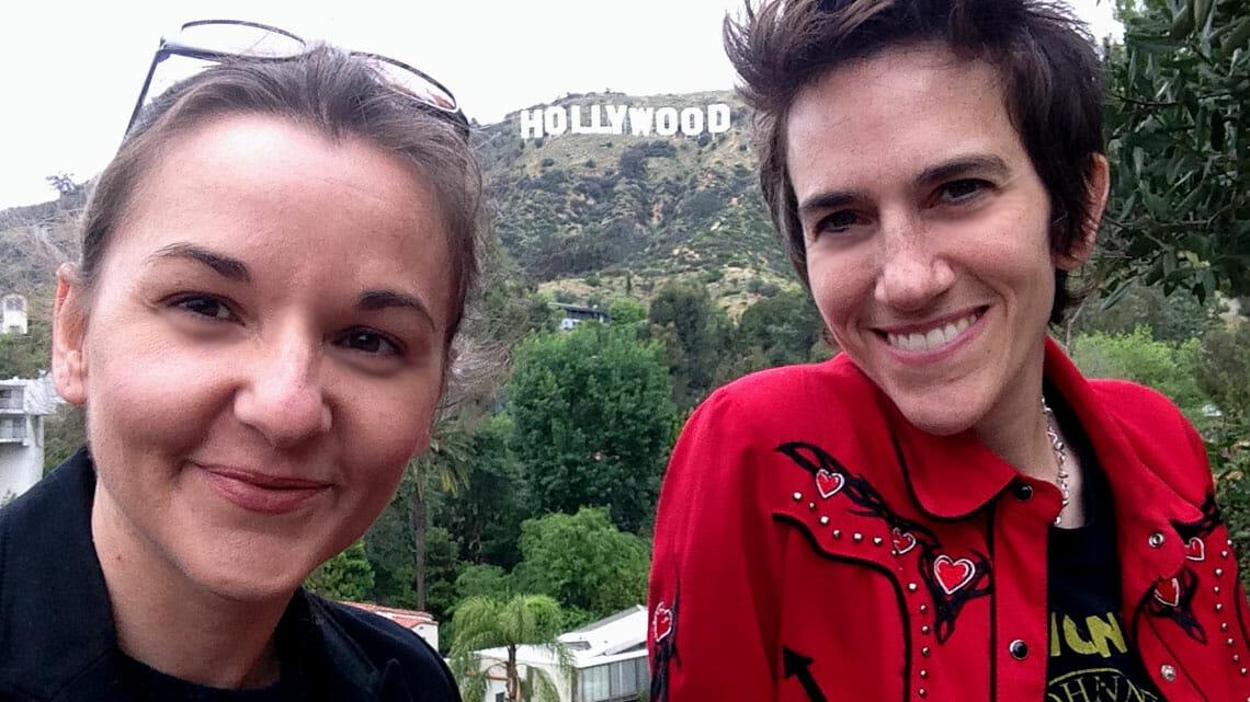 Ashley York (l.) and Sally Rubin