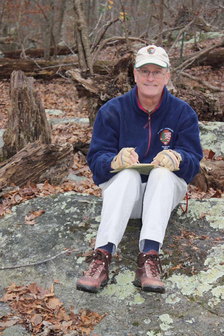 Dr. Stephen Potter, regional archaeologist emeritus for the National Capital Region of the National Park Service