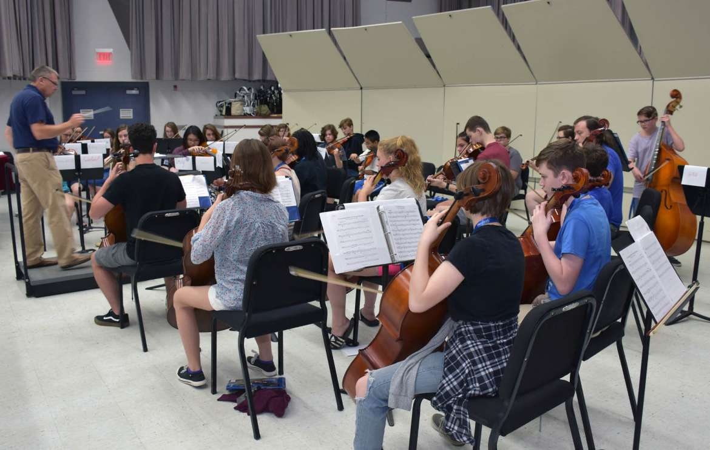 Music Camp at Shepherd