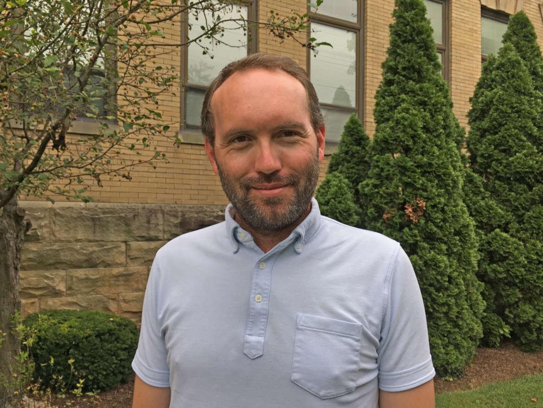 Dr. Benjamin Bankhurst, assistant professor of history
