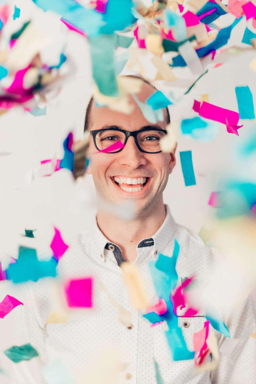 Storyteller Adam Booth, founding director of the Speak Story Series