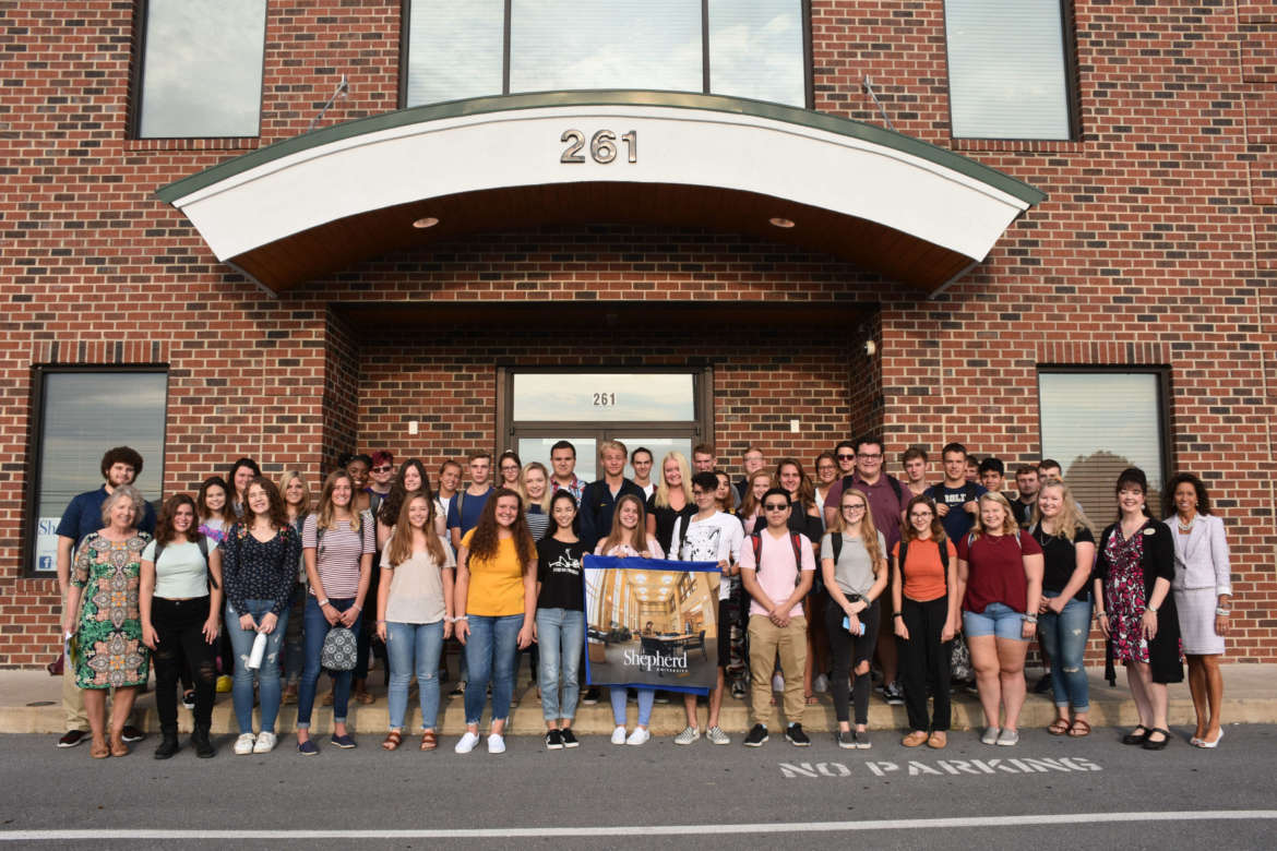 Forty senior students from Spring Mills, Martinsburg, Hedgesville, and Musselman high schools are taking dual enrollment classes at Shepherd's Martinsburg Center.