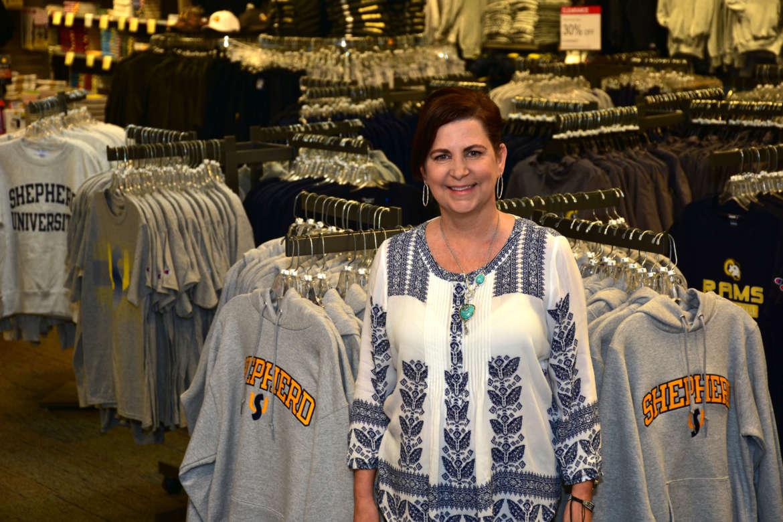 Tina Miller, Shepherd University Bookstore manager