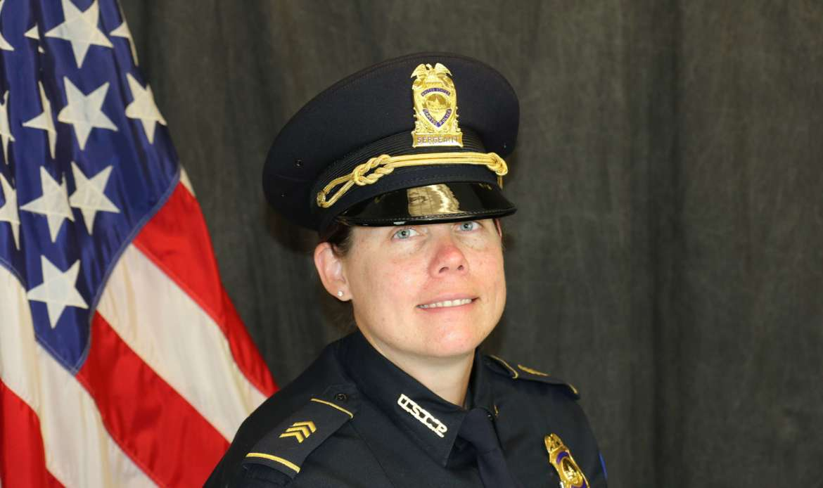 United States Capitol Police Sgt. Jillian Jeffers