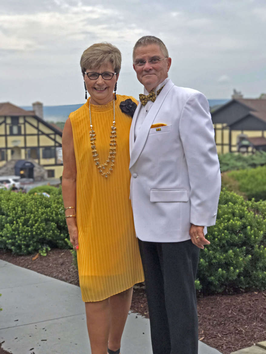 """Outstanding Alumni Mary """"Peachy"""" Staley and Jim Staley"""