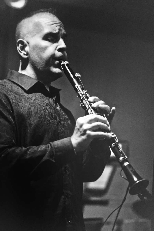 David Drosinos, adjunct clarinet professor