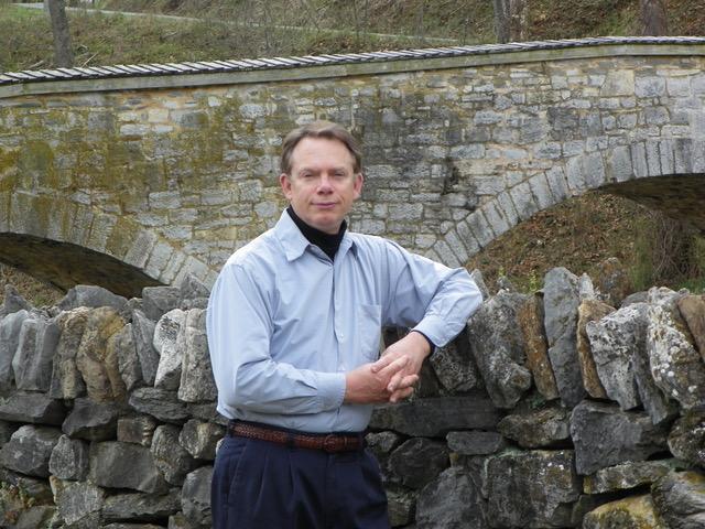 Dennis Frye, historian and Shepherd alumnus