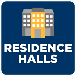 Button to pages about residence halls