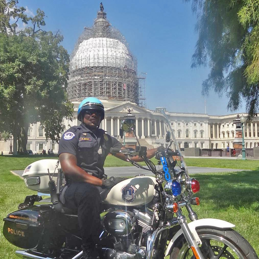 Sgt. Tyrone M. Bond II, U.S. Capitol Police.