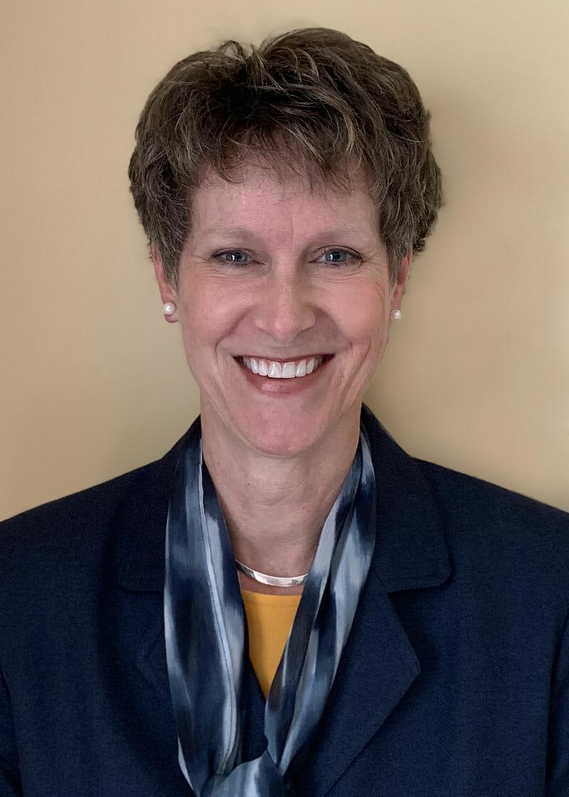 Dr. Kelly Hart, vice president for enrollment management