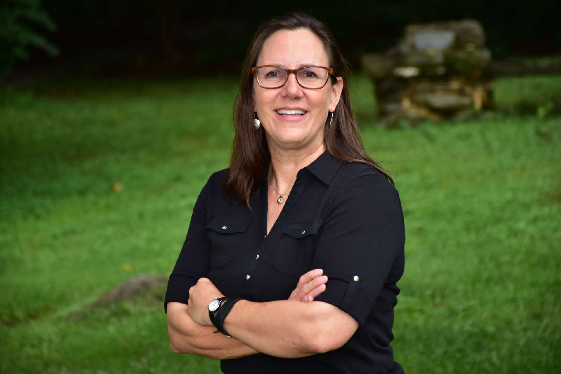 Dr. Julia Sandy , associate professor of history.