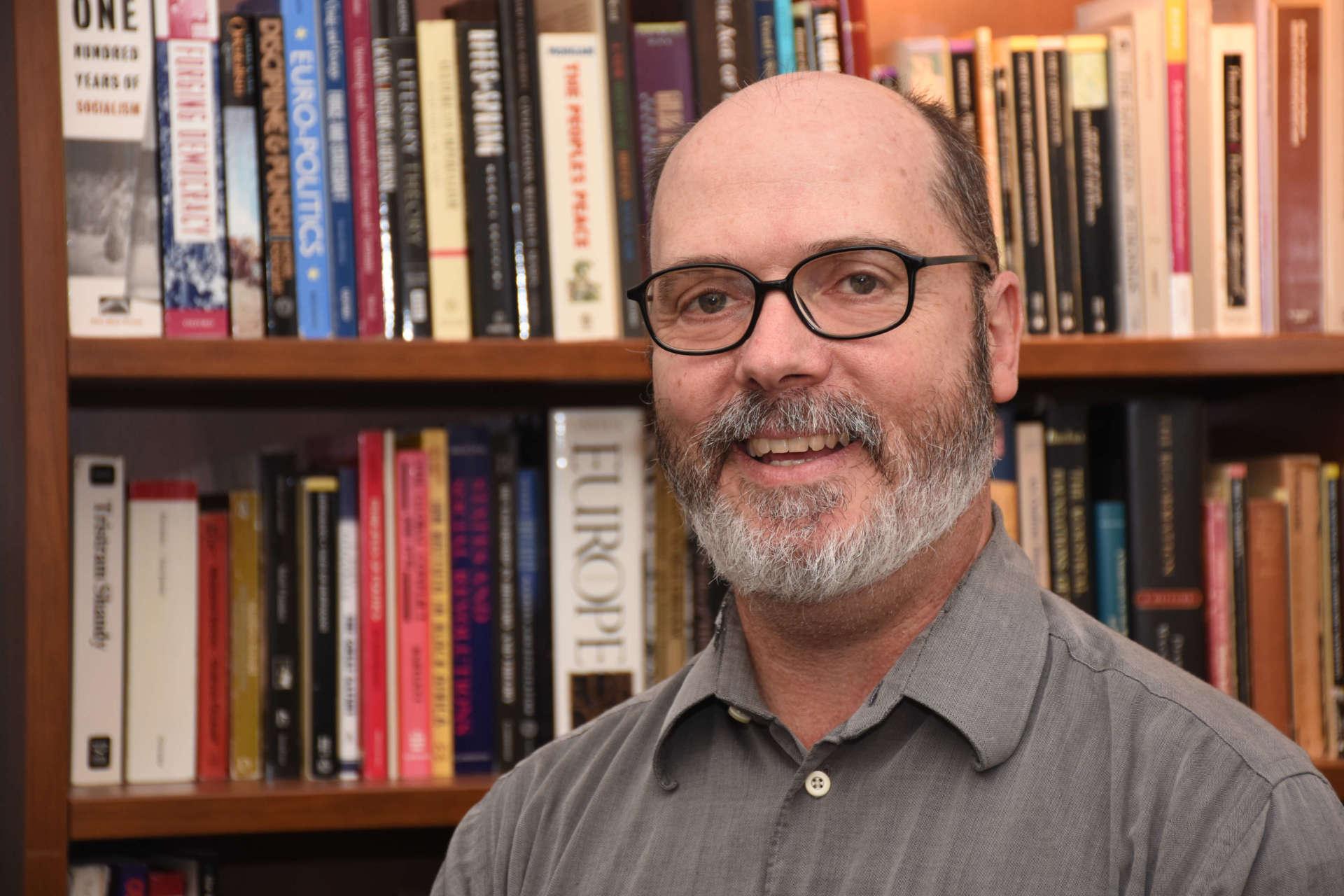 Dr. Keith Alexander, associate professor of history.