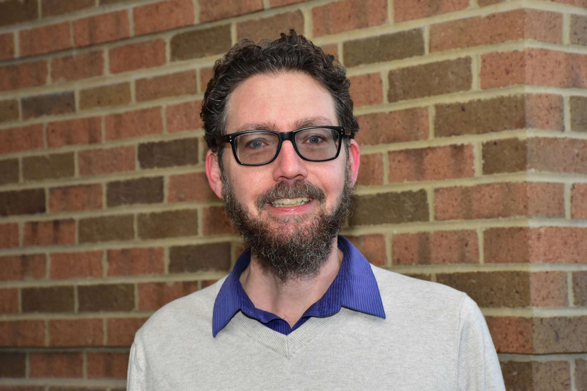 Dr. James Pate, associate professor of English