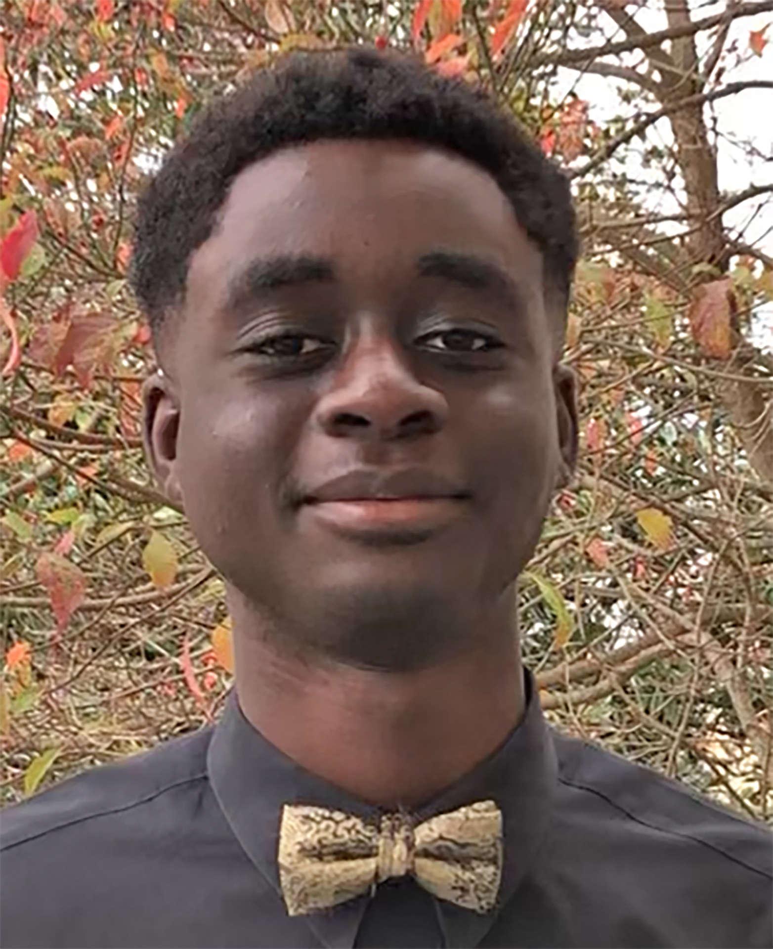 Jeremy Appiah, Upward Bound student