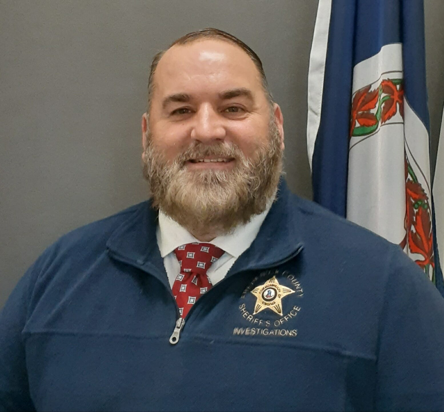 Eric W. Varnau, investigator with the Frederick County, Virginia, Sheriff's Office