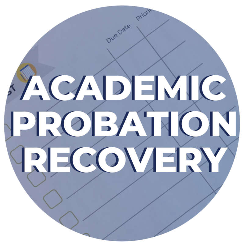 Academic Probation Recovery Program