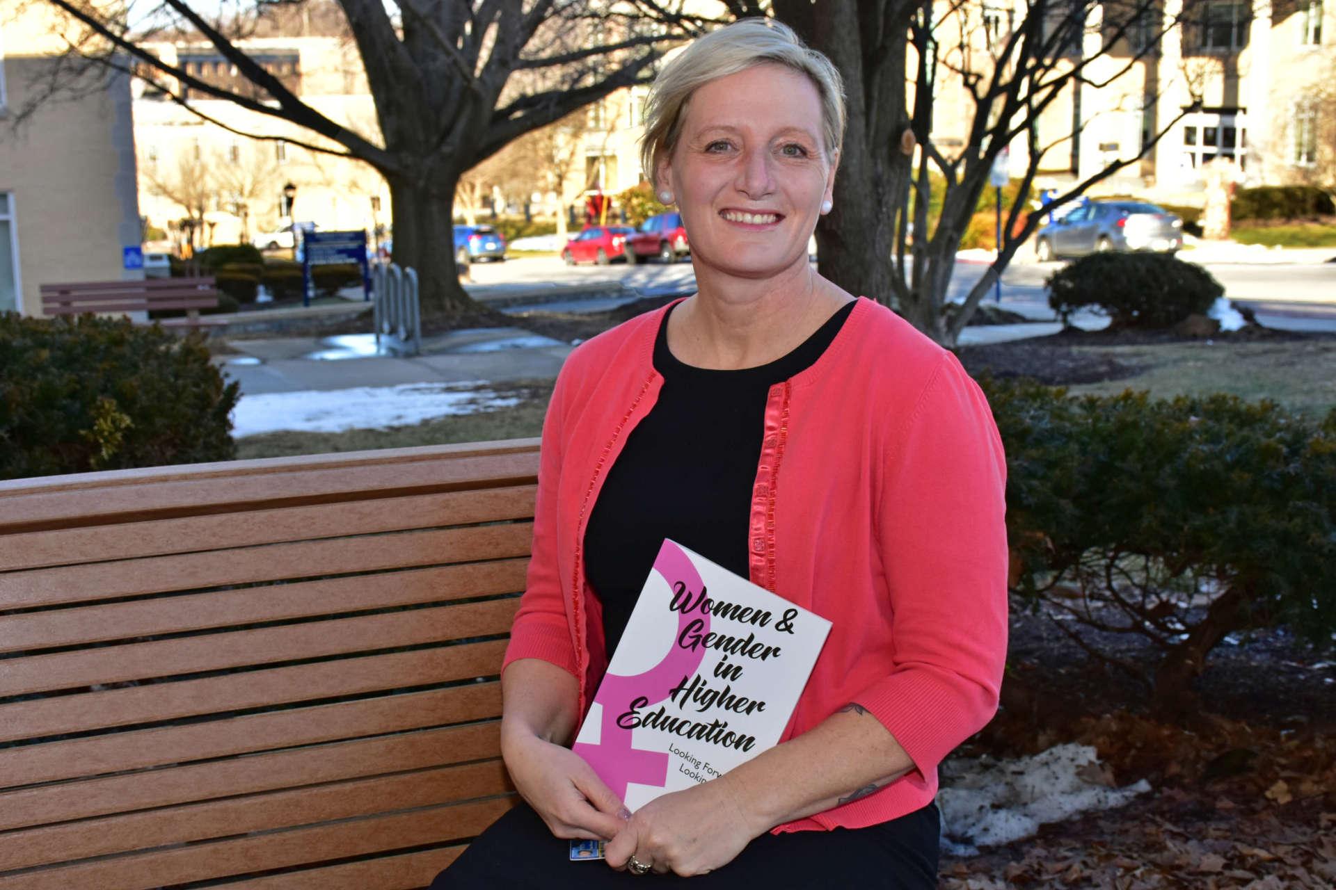 Dr. Ann Wendle, graduate program coordinator for the College Student Development Administration program,