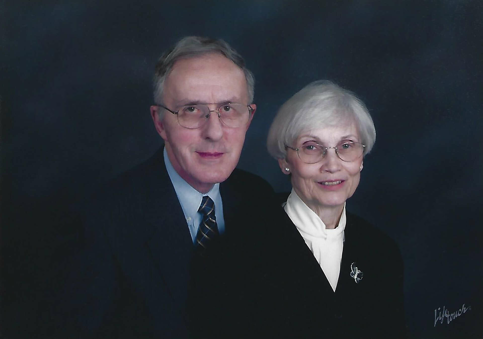 Norval and Patricia Ann Johnston