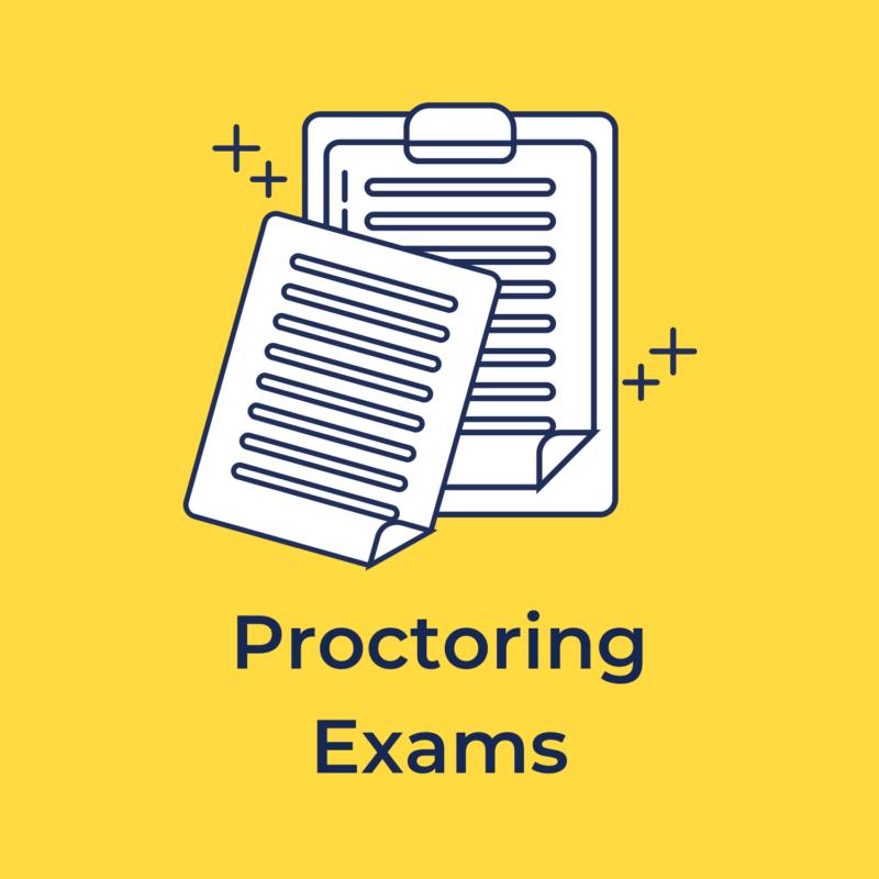 proctoring exams