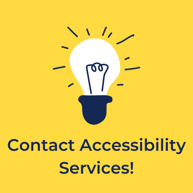 contact accessibility services
