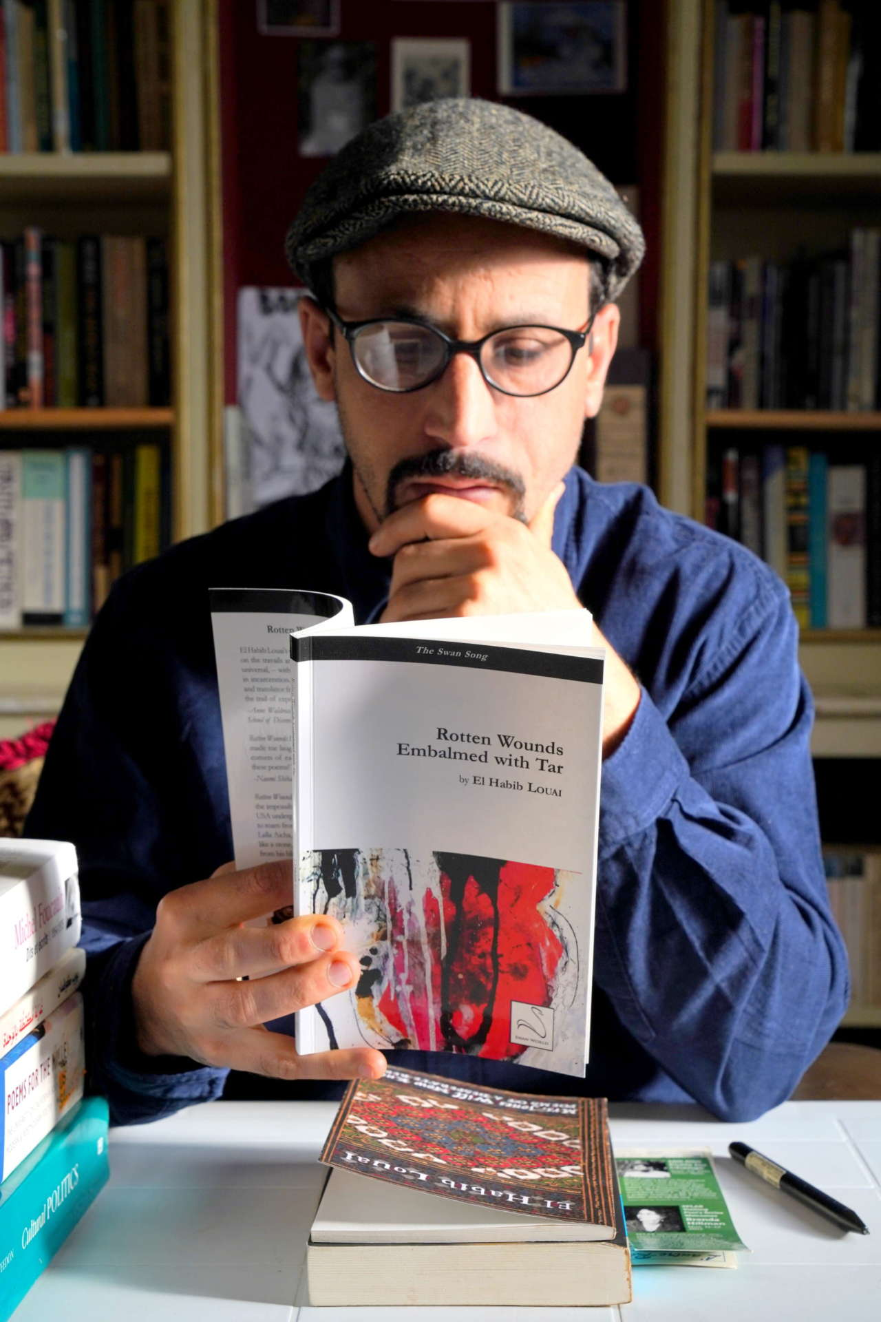 El Habib Louai, Moroccan Beat poet