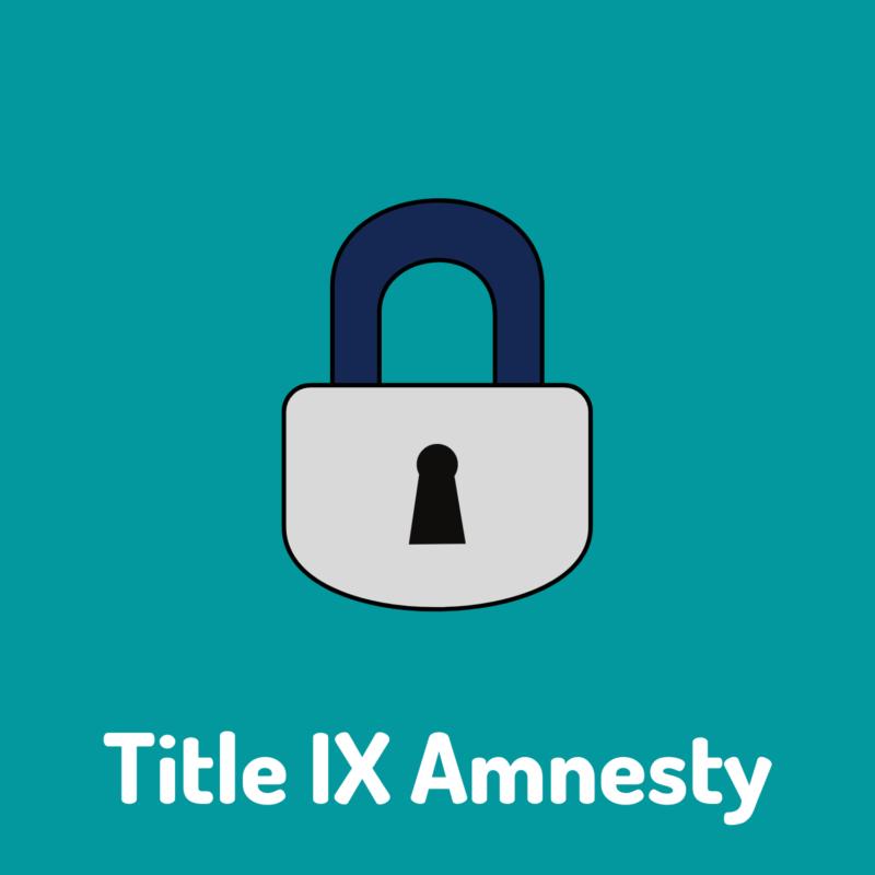 title nine amnesty