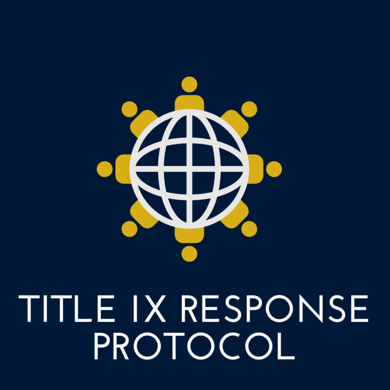 click here for the title nine response protocol
