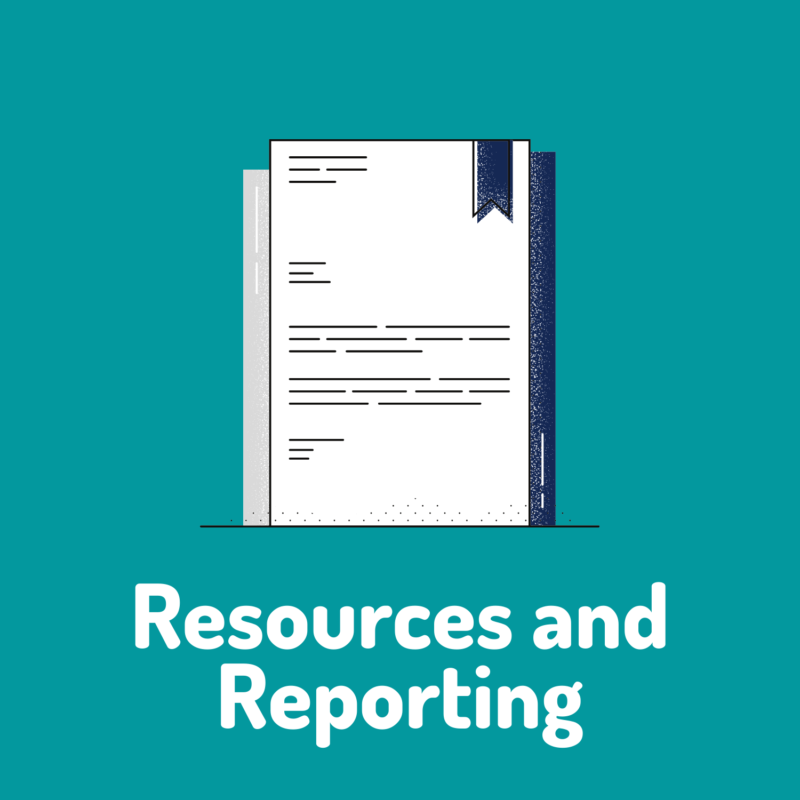 resources and reporting