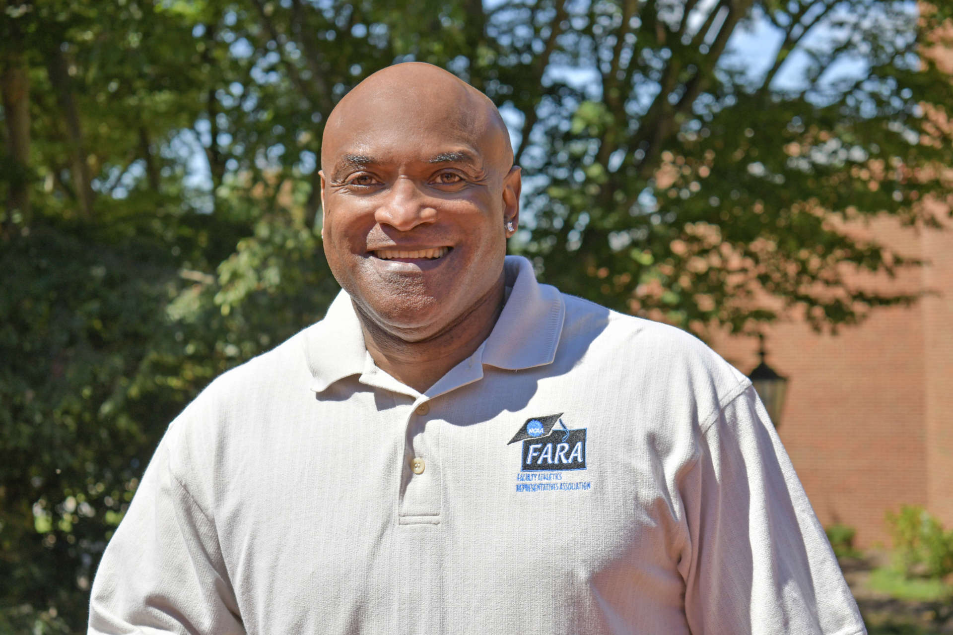 Dr. Andro Barnett, professor in recreation and leisure studies and M.B.A. sport management coordinator