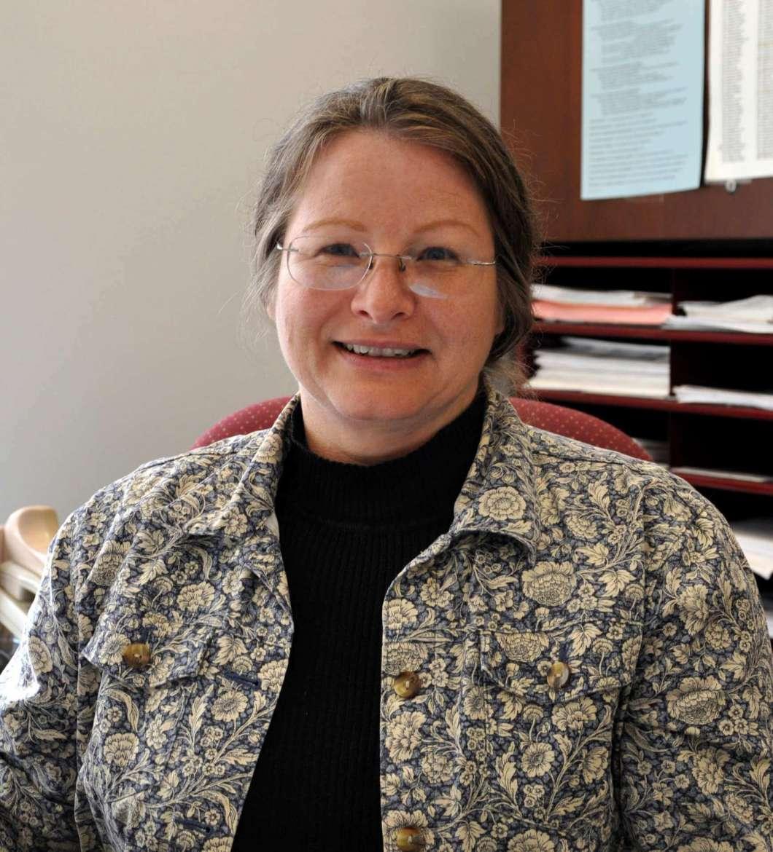 Tracy Seffers, a shape-note singer, local poet, and Shepherd University registrar.