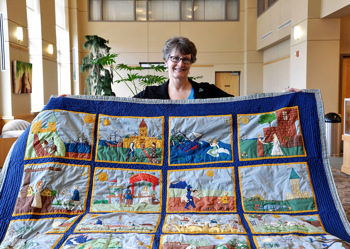 Shepherd University | Scarborough Library will display donated ... : appalachian quilts - Adamdwight.com