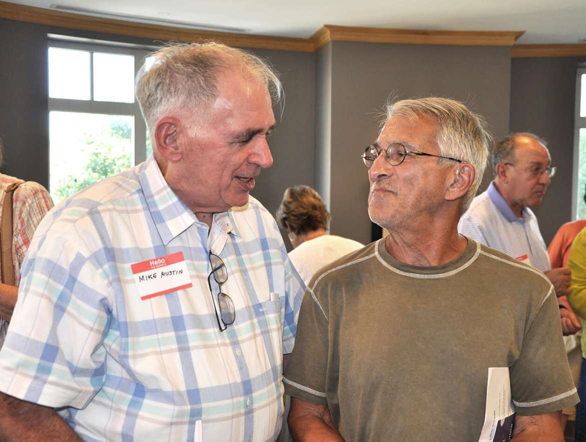 Mike Austin (L) and Art Wineburg (R)