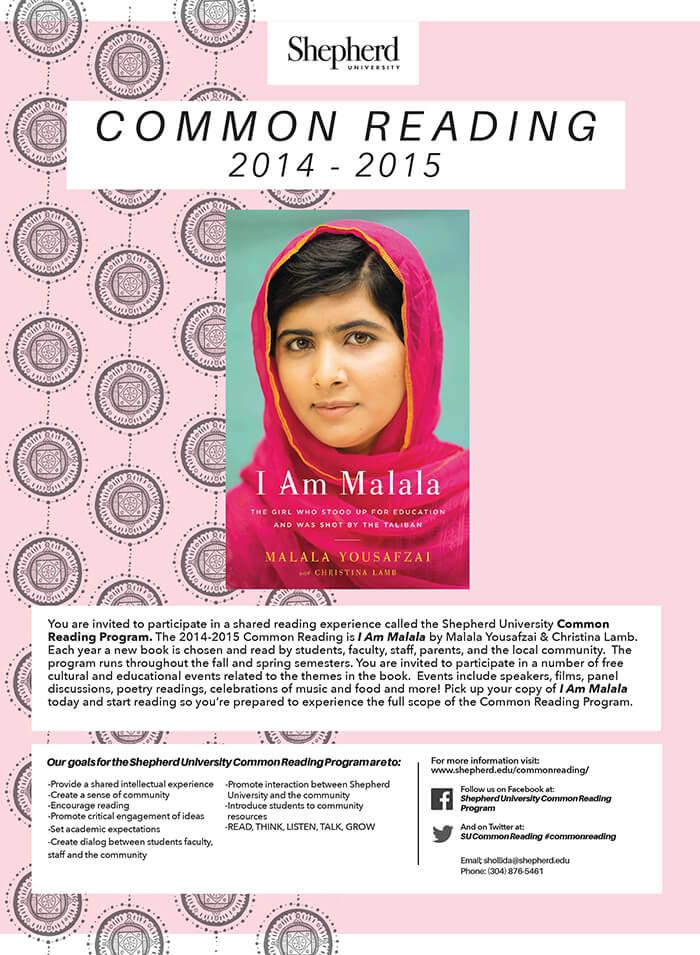 2014-15 Common Reading Events