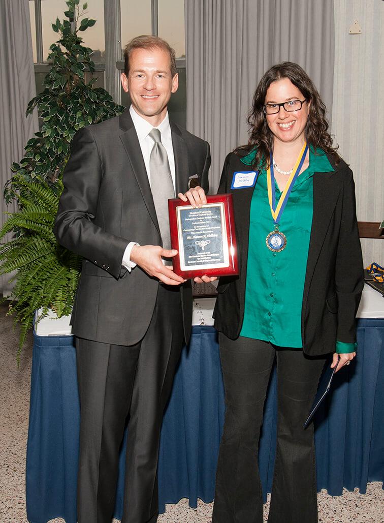 Professionalism award honoree: Shannon N. Holliday.