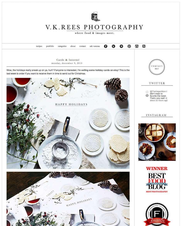 Vanessa Rees's website