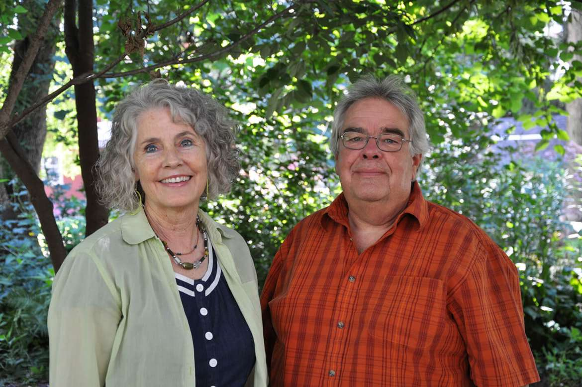 Dr. Geri Crawley-Woods and Dr. Doug Horner
